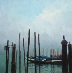 Grand Canal- salute sea mist -70cm Sq (sold)