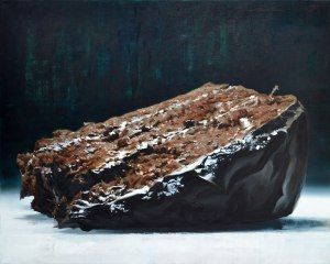 cake or death - Oil on Canvas