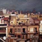 los tejados de Barcelona, 2009, 60 x 60 cm.