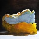 Lemon Meringue, Oil on Canvas, 61cm sq - Sold