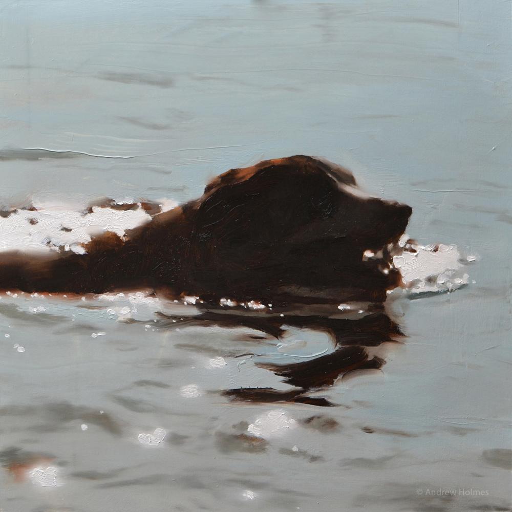 Studies of Water – Painted in Oils
