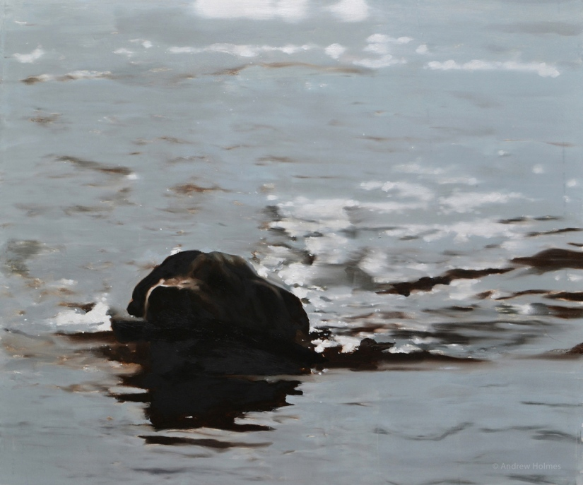 Studies of Water – Painted in Oils