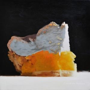 Lemon Meringue, Oil on Canvas, 51cm x 51cm (SOLD)