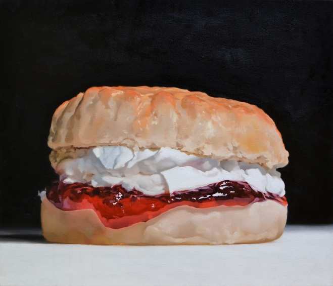 Scone VI, Oil on Canvas, 61cm x 71cm. Andrew Holmes