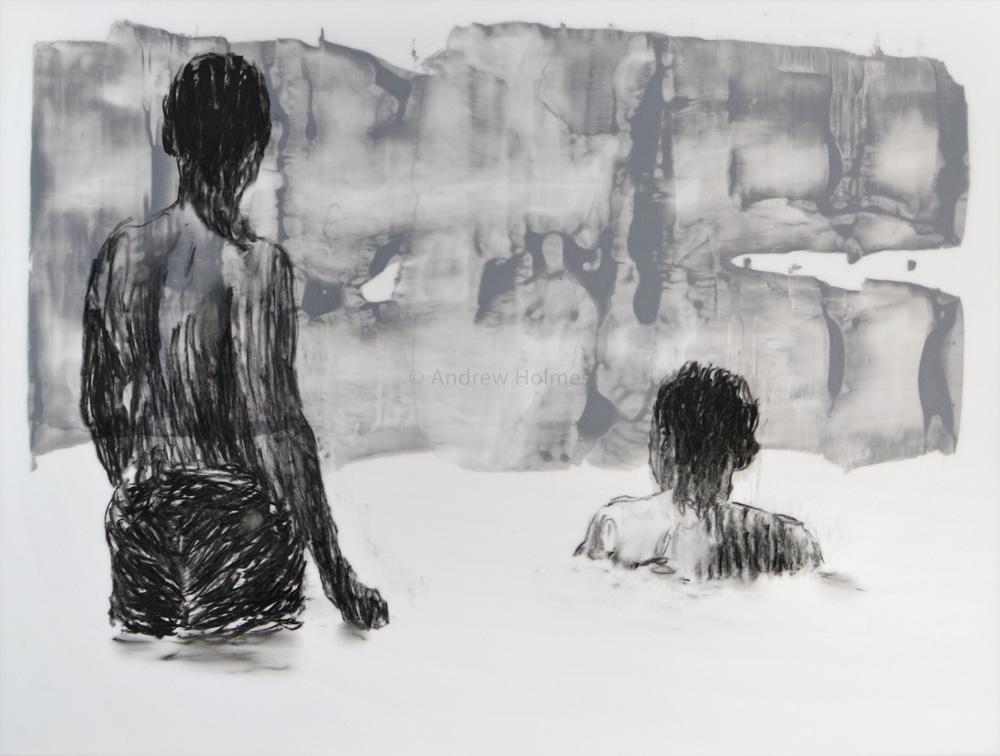 Works on Paper – bathers