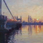 bridge-sunset