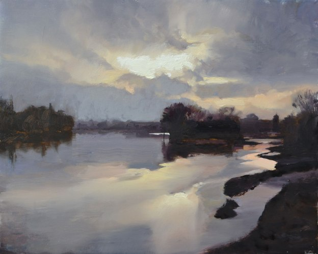 Eyot - Oil on canvas (Sold)