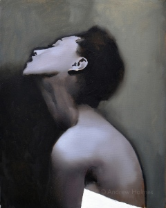 untitled figure 06 - oil on canvas - 51cm x 41cm